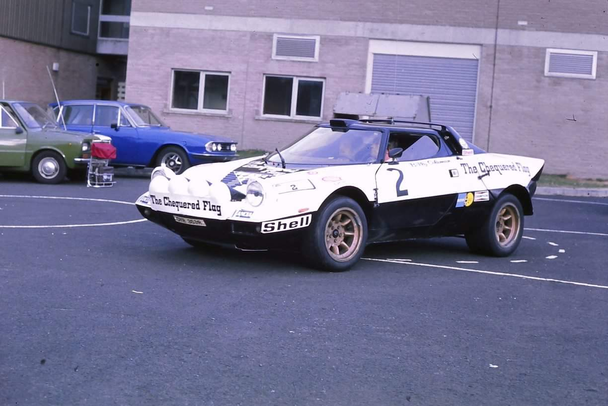 Billy Coleman and Peter Scott Stratos 77
